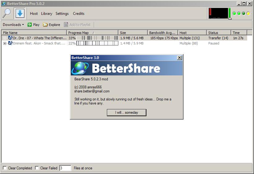 bearshare versione 5 0 2