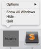 MuWire - an anonymous P2P app-muwiredockoptions.png