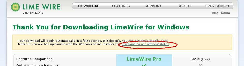 limewire 4.14.7